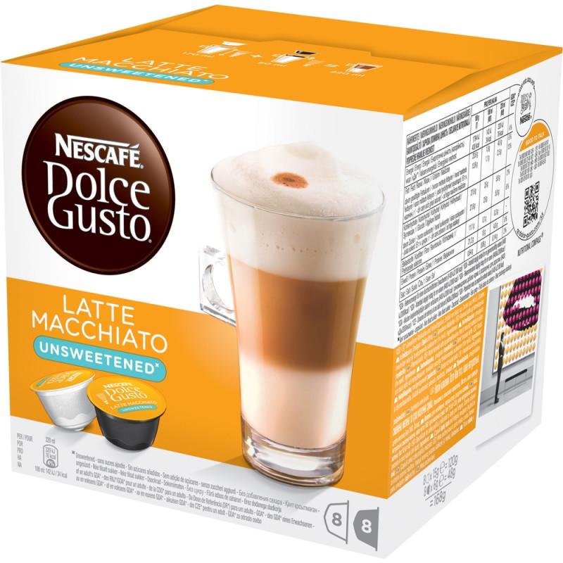 Nescafé Dolce Gusto Latté Macchiatto Bez Cukru 16 Ks